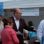 Didier Paillard, maire de Saint Denis à la rencontre des habitants