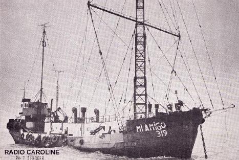 radio bateau
