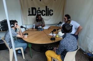 Le groupe Punsh O Matic au micro de radio déclic