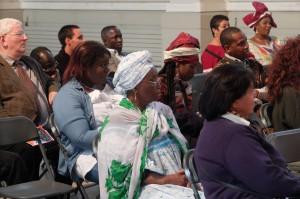 Le public venu nombreux assisté à la conférence