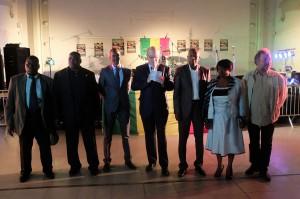 Didier Paillard et l'association des élus d'origine malienne CEFORM